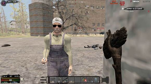 【7dtd】「War of the Walkers」MOD入れてみた【α16】