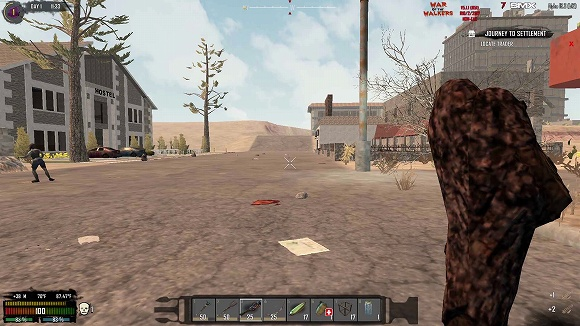 【7dtd】「War of the Walkers」MODやってみる 1日目【α16】