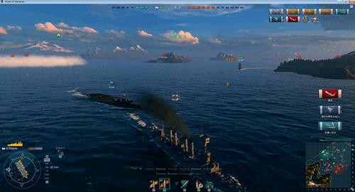 【WoWs】今日の戦果:巡洋艦1 駆逐艦1