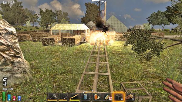 【7dtd】軍事キャンプで地雷探し