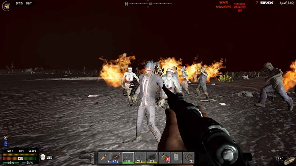 【7dtd】「War of the Walkers」MODやってみる 14日目【α16】